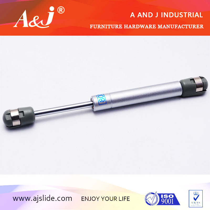 Adjustable gas spring for furniture