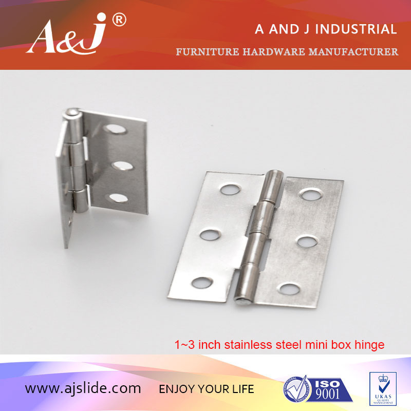 Metal cabinet door hinge