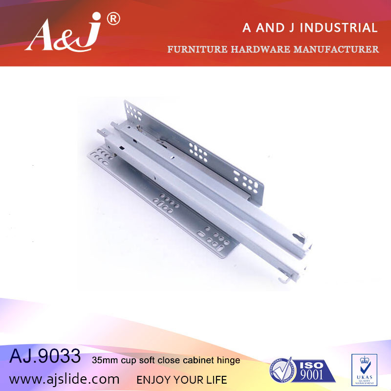 Factory ball bearing Concealed adjustable hidden drawer slide,Full Extension Drawer Slides,