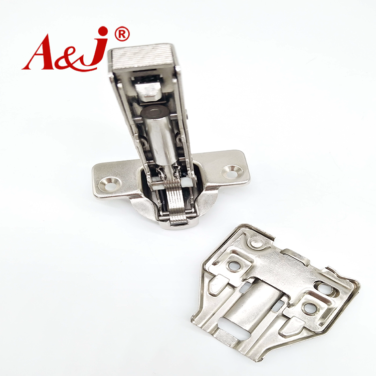 Nickel plated 3D cabinet hinge